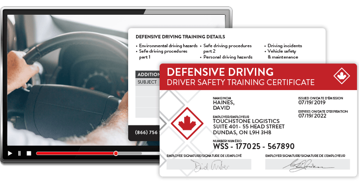 Defensive Driving Online Course Worksite Safety