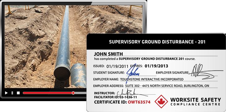 GroundDisturbanceProduct