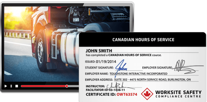 Canadian hours of Service