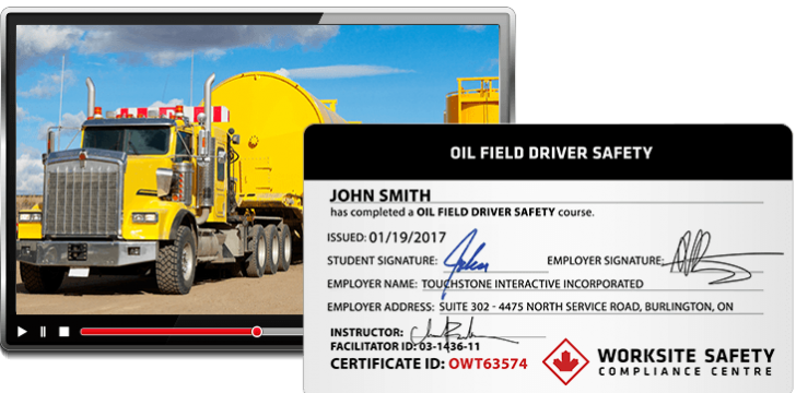 Oil Field Driver Safety