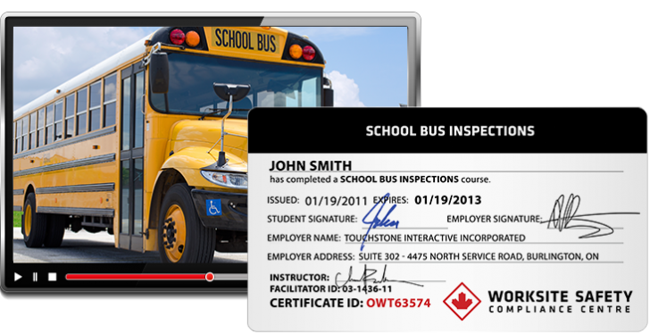 school bus inspections