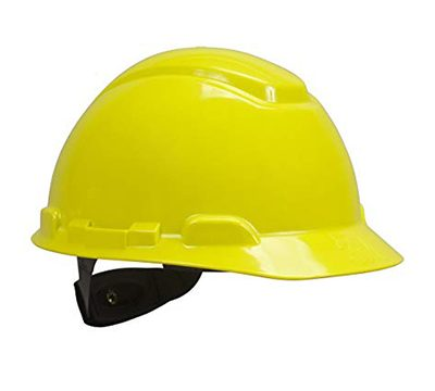 hard hat yellow