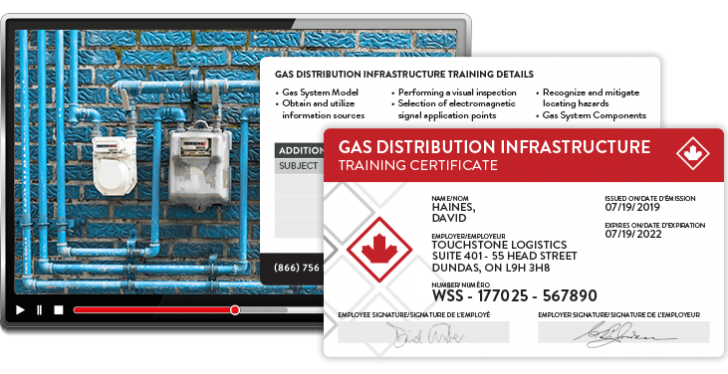 gas distribution training
